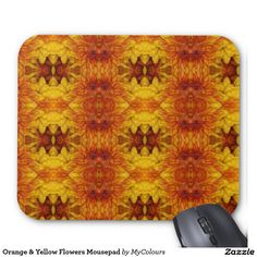 Searching for that perfect gift? Zazzle have the perfect orange gift for any occasion. Explore our fab gifts today! Mousepad, Orange Yellow, Yellow Flowers, I Shop, Zip Around Wallet, Floral Design, Inspired, Gifts, Inspiration