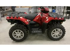 Lafayette power sports is the dealer of cheap used 2013 Polaris Sportsman XP 850 H.O. Four Wheeler ATV from Lafayette, LA, USA. Find 2013 Polaris Sportsman XP 850 H.O. Four Wheeler ATV Available for just $ 8500. It's Extreme performance to trail ride or hunt. Powerful 850 EFI high output engine Class-leading 12 in. ground clearance Electronic Power Steering (EPS). See more details with images At: http://goo.gl/yJ0F6g