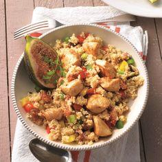 Marokkaanse kipsalade | Gezonde Recepten | Weight Watchers