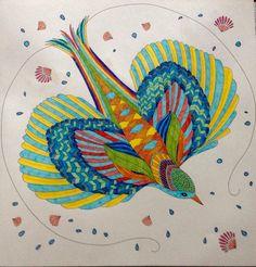 Millie Marotta Dierenrijk Kleurboek Carnaval Vogel