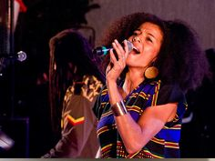 Jamaica - Reggae Month...I saw her! She's awesome!!!