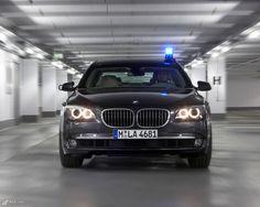 BMW 7 Polizeifahrzeug