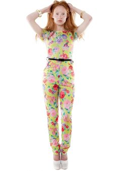(FLOWER POWER) HAKKA BELTED FLORAL PRINT JUMPSUIT #HAKKAFASHION SHOP THIS JUMPSUIT HERE- http://www.hakkafashion.com/jumpsuits-playsuits/107-hakka-belted-floral-print-jumpsuit-.html?search_query=FLORAL&results=48