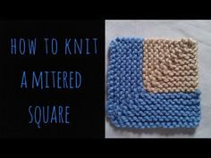 Sock Yarn Blanket Part 1 of 3 - Tutorial - Knitting Blooms - YouTube