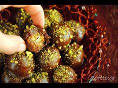 Σοκολατάκια γεμιστά χωρίς ζάχαρη !!! Sofeto chocolate wish!!! Συνταγές για διαβητικούς Healthy Desserts, Stevia, Gluten Free Recipes, Deserts, Sweets, Diet, Vegetables, Ethnic Recipes, Food