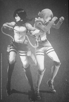 Mikasa x Annie