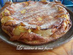 Um sobremesa à bese de maçãs, tipicamente francesa, da região da Bourgogne. Ela…