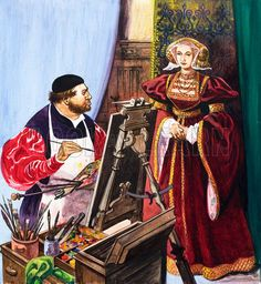 holbein painting the lady anne