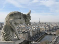 Notre Dame Cathedral.  Sanctuary of Quasimodo, from Victor Hugo's epic tale.