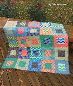 My Quilt Infatuation: Hopscotch