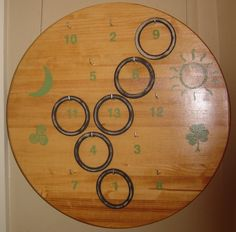 The old Irish game of ring toss is making a comeback. Ring Game, Ring Toss, Irish Games, Irish Festival, Old Board Games, Parlor Games, Irish Rings, Old Irish, World Thinking Day