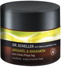 Dr. Scheller Olio di Argan & Amaranto - Crema Giorno Antirughe Ideale per la pelle esigente con effetto rinforzante e levigante #crema #viso