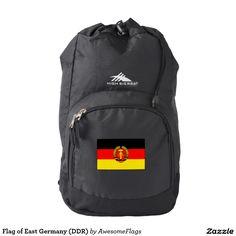 Flag of East Germany (DDR) Backpack