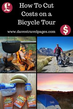 Looking for some tips on how to cut costs on a bicycle tour? Read on to find out how you can travel further for cheaper on you next bicycle tour!