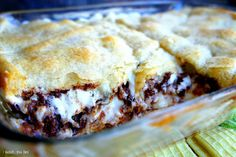 Hidden S'mores - Dessert Casserole - I Wash... You Dry