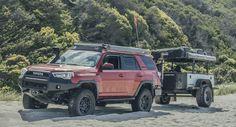Isaac Marchionna's TRD Pro 4Runner (lawndart) build with long travel suspension & Pelfreybilt