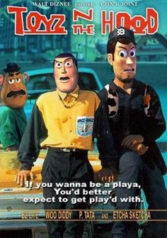 """69 Facts You Probably Didn't Know About Pixar: #19 They considered calling Toy Story """"Toyz in the Hood"""""""