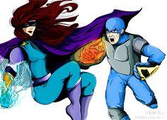 << Illustration on commission>> Marvel inspiration - Wacom Tablet & Illustrator cs6 #illustration #illustrator #adobe #graphic #wacom #marvel #supereroi