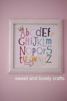 use cricut to make this! Idea for the learning center room!