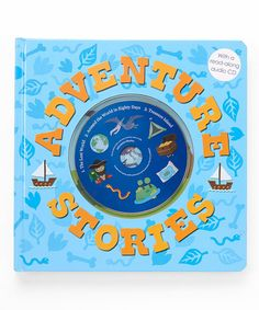 Loving this Adventure Stories Board Book & CD on #zulily! #zulilyfinds
