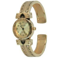 Rose Gold Cuff Watch Geneva. $15.99