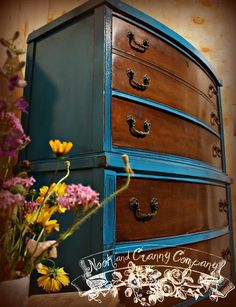 Chest of Drawers - love the finish