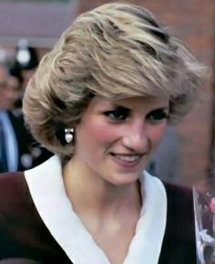 May 16, 1985:  Princess Diana visits a branch of Dr. Barnardo's and Thingwall Hall Residential Training Centre in Liverpool, Merseyside.