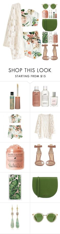 """""""(8)"""" by kidrauhlftbizzle ❤ liked on Polyvore featuring Paul & Joe, philosophy, Gianvito Rossi, Casetify, Furla, Sylva & Cie and Oliver Peoples"""