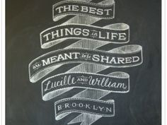 For you art and literary geeks...never forget chalk is a lovely medium