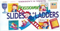 Passover Slides & Ladders.....or as everyone else remembers Shoots and Ladders