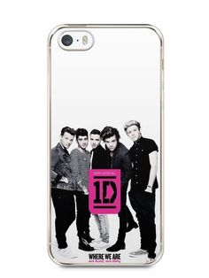 Capa Iphone 5/S One Direction #2