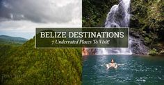 Sometimes the best places to be are the places no one talks about. Have a look at seven of ‪#‎Belize‬'s most underrated destinations that are sure to give you a serious case of ‪#‎wanderlust‬: