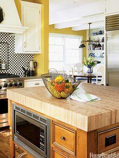 Unique Kitchen Islands - Kitchen Island Design Ideas - House Beautiful
