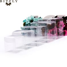 50pcs PVC Clear Transparent Candy Box Gifts Birthday Wedding Favor Holder Chocolate Candy Boxes Event Sweet Candy Bags /jewelry  Price: 14.99 & FREE Shipping #computers #shopping #electronics #home #garden #LED #mobiles #rc #security #toys #bargain #coolstuff |#headphones #bluetooth #gifts #xmas #happybirthday #fun Wedding Favors, Wedding Decorations, Cake Wedding, Chocolate Bonbon, Cheap Gift Bags, Candy Bags, Pvc, Party Supplies, Birthday Gifts