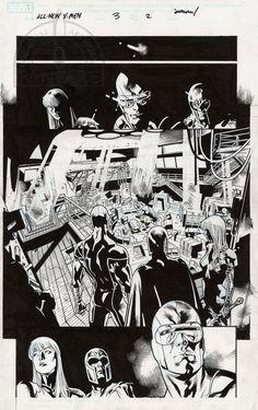 Stuart Immonen All New X-Men #3 page 2