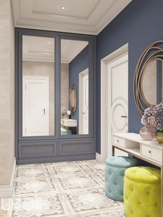 Ideas home decored hallway closet Hallway Decorating, Interior Decorating, Ikea Built In, Home Interior, Interior Design, Bright Apartment, Hallway Designs, Bedroom Wardrobe, Home Furniture
