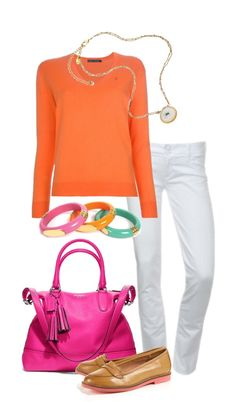 """Coach bright"" by simple-wardrobe ❤ liked on Polyvore"