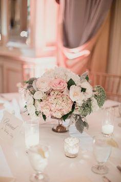 Classic Pink and Gold Dallas Wedding - MODwedding