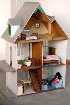 cardboard dollhouses - Google Search