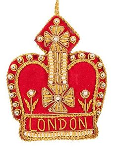London Red Crown Decoration Price : £9.50 http://shop.westminster-abbey.org/St-Nicolas-London-Crown-Decoration/dp/B00MGNBNOG