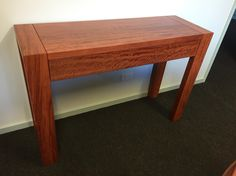 Red gum hall table Restauration Hardware, Entryway Tables, Hall Tables, Hardwood Furniture, Sideboard, Dining Bench, Desk, Home Decor, Desktop
