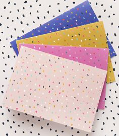 Versamark pen + heat embossing different colors on card? print & pattern: CARDS - ma and grandy