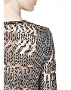 burnout fairisle pullover - Top Women - Tops Women on Alexander Wang Online Store