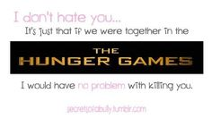 SO TRUE!! Hunger Games Humor / lol haha funny pics / pictures