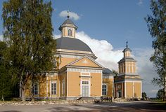 The Lutheran church Veteli. Central Ostrobothnia province of Western Finland - Keski-Pohjanmaa