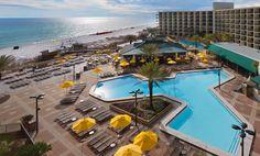 Book your Florida beach vacation at Hilton Sandestin Beach Golf Resort & Spa, a luxurious, full-service Destin beach resort & full-service hotel. Destin Florida, Florida Resorts, Destin Beach, Beach Hotels, Florida Beaches, Beach Resorts, Hotels And Resorts, Family Vacation Destinations, Hotels