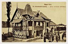 1910. Az elvarázsolt kastély az Angolparkban.