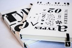 "Cuadernos ""Types"" A5   @Fixioana bookbinding / 100% hecho a mano - 100% hecho con amor   .- www.fixioana.tumblr.com www.facebook.com/fixioanaa"