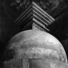 Andreas Volwahsen - Stupa in Prayer-Hall, Ajanta @ Living Architecture - ANDREAS VOLWAHSEN | StoryLTD