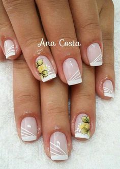 French Nails, Nail Arts, Maybelline, Nail Art Designs, Beauty Hacks, Glitter, Erika, Ideas Para, Light Nails